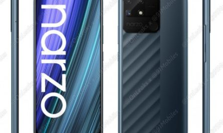 realme Narzo 50A: пресс-рендер и первые технические подробности