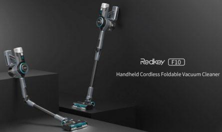 Redkey F10: удобная уборка без проводов со скидкой 30%
