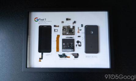 Смартфон Google Pixel превратили в произведение искусства [ФОТО]