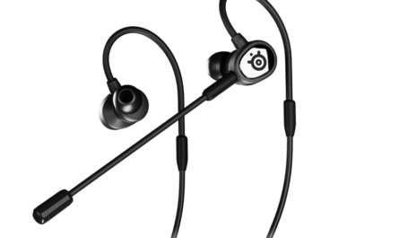 SteelSeries Tusq — игровые наушники-вкладыши с двумя микрофонами
