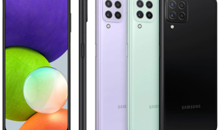 В России стартовали продажи недорогого Samsung Galaxy А22
