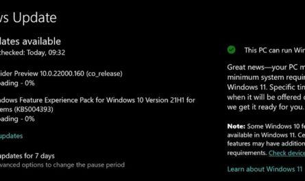 В Windows 10 появилась встроенная проверка на совместимость с Windows 11
