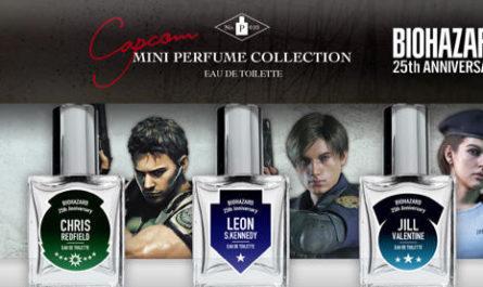 Запахло Леоном. Capcom выпустила духи по мотивам Resident Evil