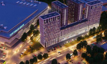 В ЮВАО началось строительство комплекса апартаментов с бассейном