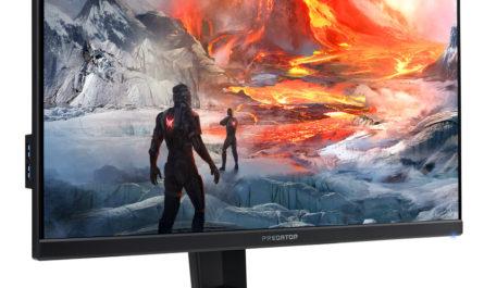 Acer представила в России новый игровой монитор из серии Predator XB3