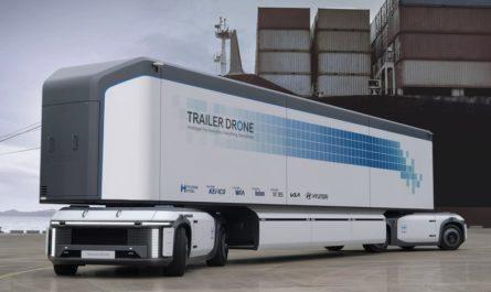 Беспилотная «тележка» — будущее грузоперевозок от Hyundai