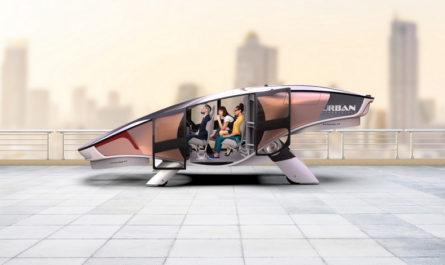Cityhawk — летающее такси класса люкс [ВИДЕО]