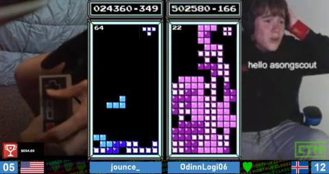 Игрок в Tetris установил новый мировой рекорд прямо во время турнира