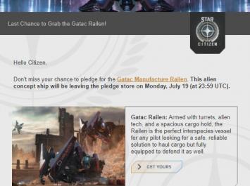 Игрок заставил авторов Star Citizen снять с продажи несуществующий корабль