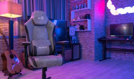 Игровое кресло AeroCoolCrown появится в России в трёх версиях