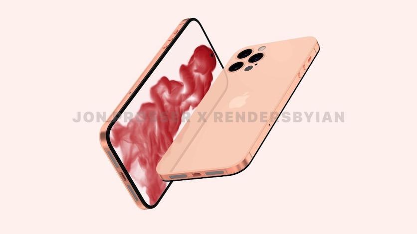 iPhone 14 без «чёлки» показали на концепт-рендерах