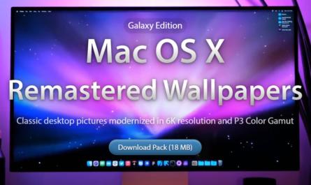 Классические обои из Mac OS X улучшили с помощью нейросети [ФОТО]