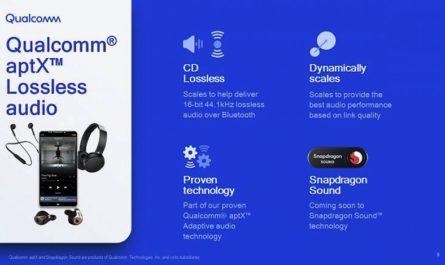 Кодек Qualcomm aptX Lossless обеспечит CD-качество звука без проводов