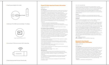Компактную ТВ-приставку Xiaomi Mi TV Stick показали изнутри