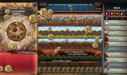 Печеньки. Cookie Clicker захватил умы пользователей Steam