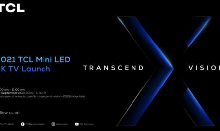 TCL приглашает на презентацию передового mini-LED 8K-телевизора