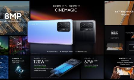 Xiaomi 11T Pro: экран 120 Гц, зарядка 120 Вт и Snapdragon 888 за €649