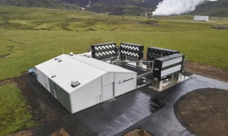 Запущена крупнейшая установка по очистке воздуха от СО2 [ВИДЕО]