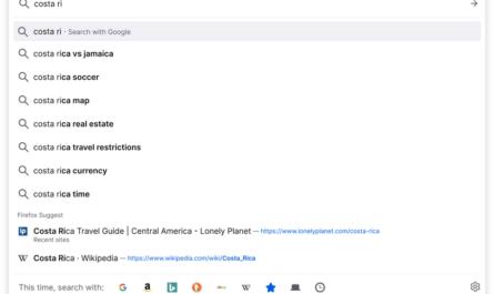 Firefox собирает много персональных данных и показывает рекламу в адресной строке