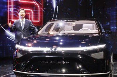 Foxconn представила три электромобиля с дальностью хода до 750 км