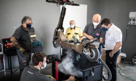 Гоночные электросамокаты способны разгоняться до 100 км/ч
