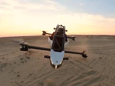 Jetson One — летающий электробайк стоимостью $92 000 [ВИДЕО]