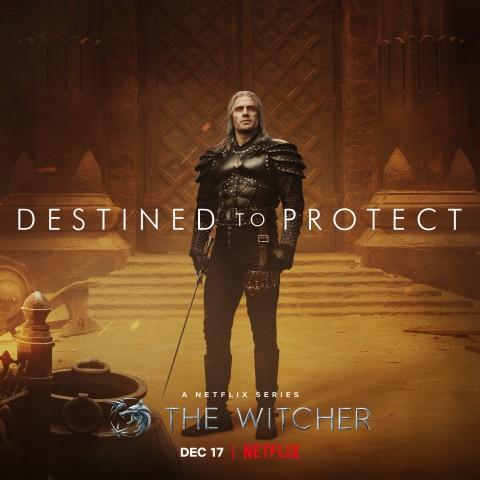 Netflix выпустила новый постер и поделилась деталями второго сезона «Ведьмака»