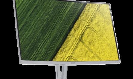 Новые изогнутые мониторы Acer ED3 прибыли в Россию
