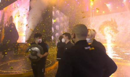Российская команда выиграла главный турнир по Dota 2 с призовым фондом в $40 млн