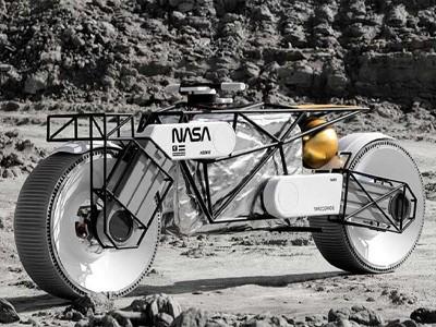 Tardigrada — лунный мотоцикл, созданный по эскизам российского художника