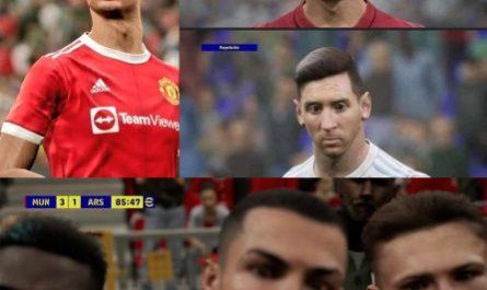 Уродливый двойник Месси и ужасающие баги. Игроки показали проблемы eFootball 2022