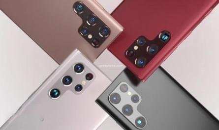 Все характеристики и новые рендеры флагманского Samsung Galaxy S22 Ultra