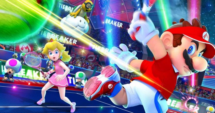 Теннисисты и знаменитости сыграют на благотворительном турнире по Mario Tennis Aces