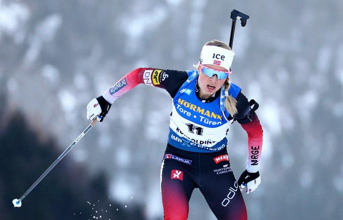 Россиянки оказались за пределами топ-30 спринта на этапе КМ по биатлону
