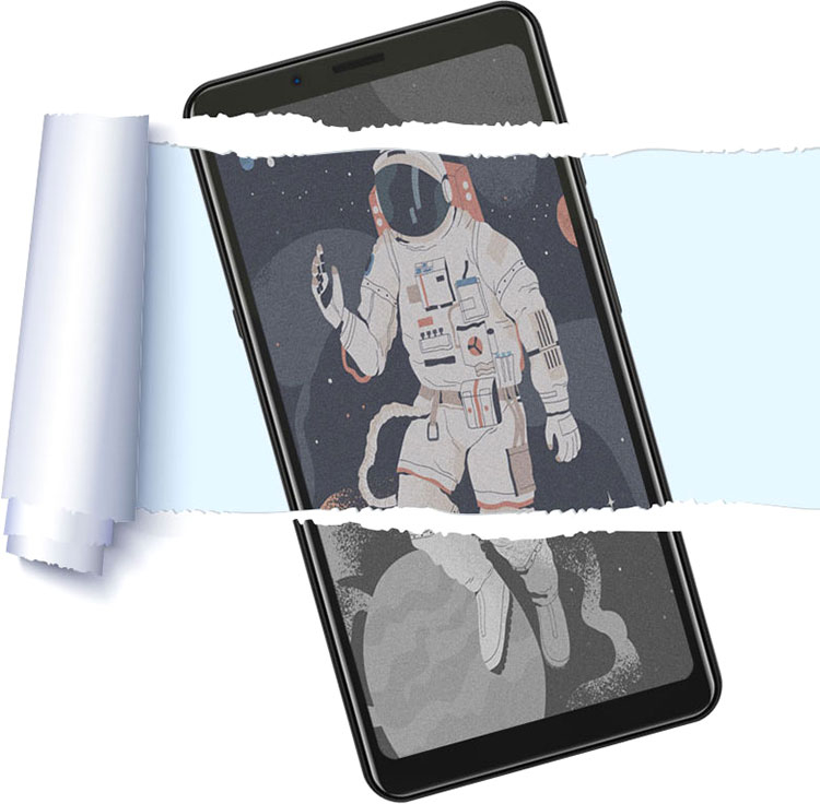 Hisense представила смартфоны A5C и A5 Pro с дисплеями E-Ink