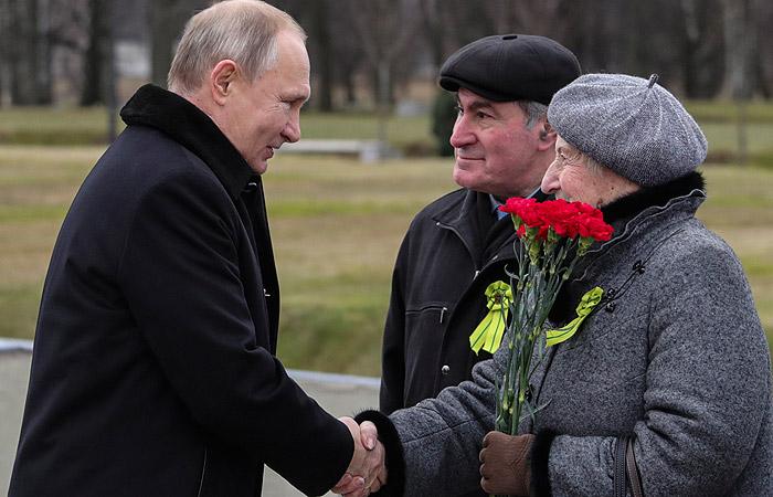 Путин озвучил выплаты ветеранам к 75-летию Победы