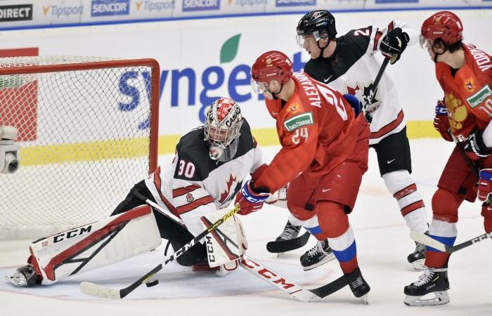 Финал молодежного ЧМ Россия - Канада. Онлайн