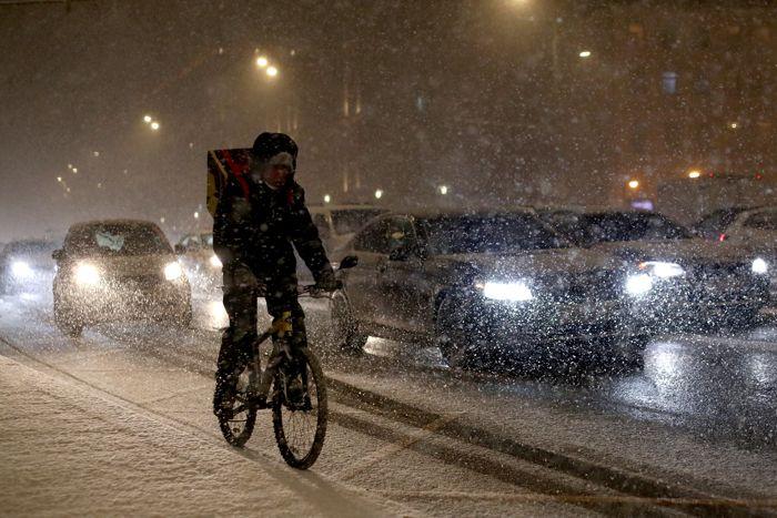 Москвичи пережили самую холодную ночь с начала зимы