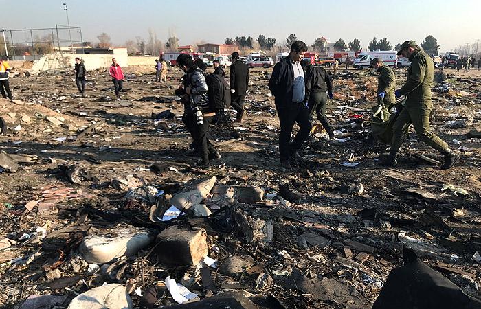 В Киеве уточнили, что в крушении Boeing в Иране погибли 177 человек