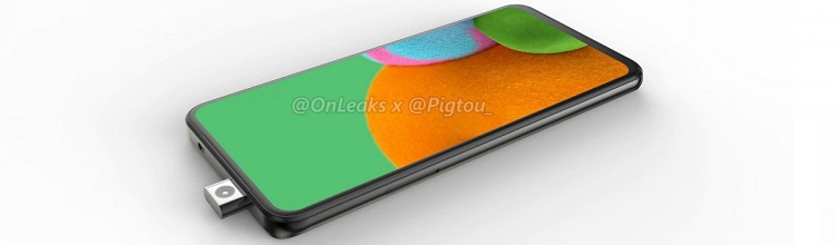 Samsung готовит к выпуску смартфон серии Galaxy A с выдвижной «фронталкой»