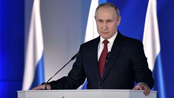 Путин поручил обеспечить финансирование расхода на реализацию послания