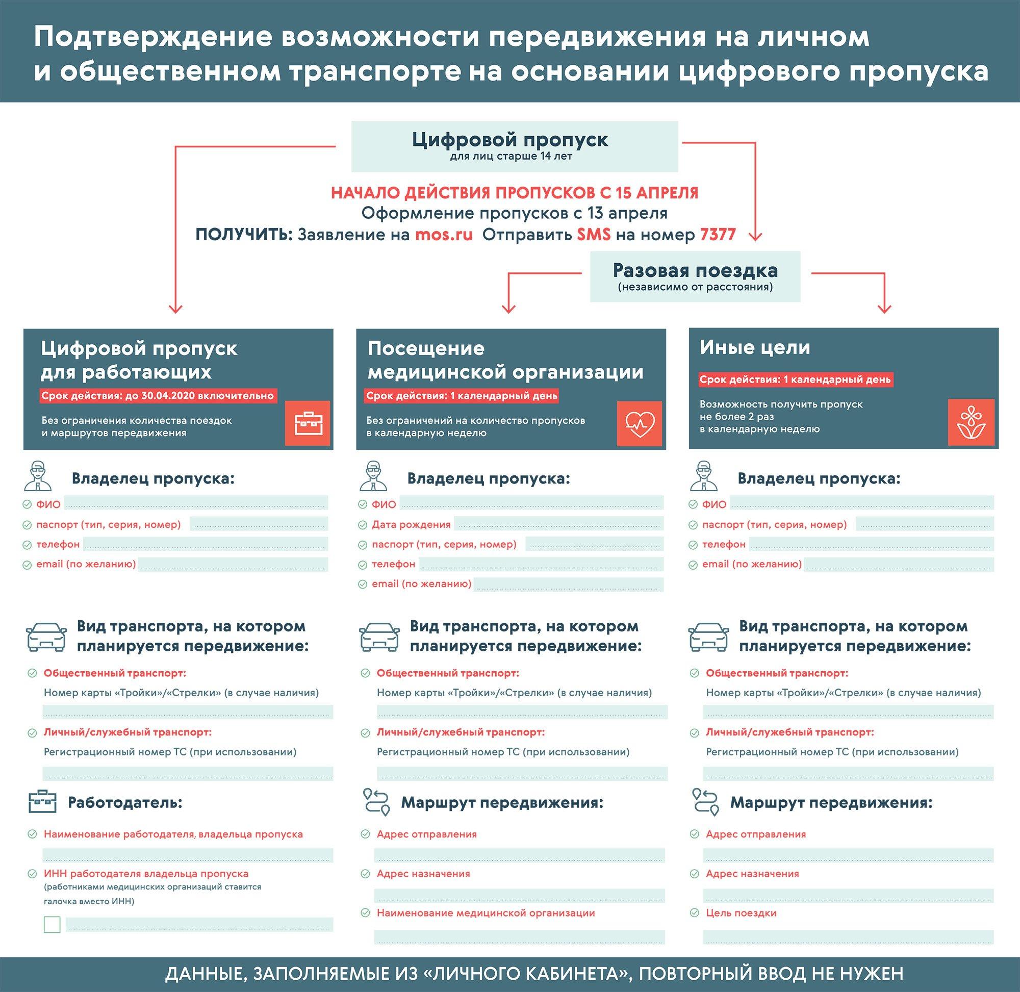 Дача, магазин, работа: как использовать спецпропуска в Москве