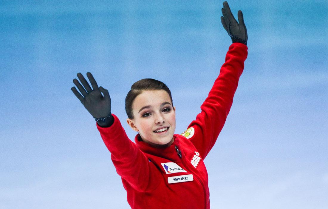 Российские фигуристки составили тройку лучших в короткой программе ЧЕ